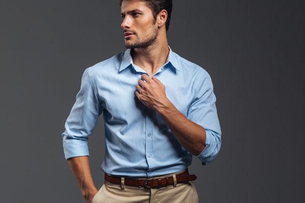 chemises hommes slim