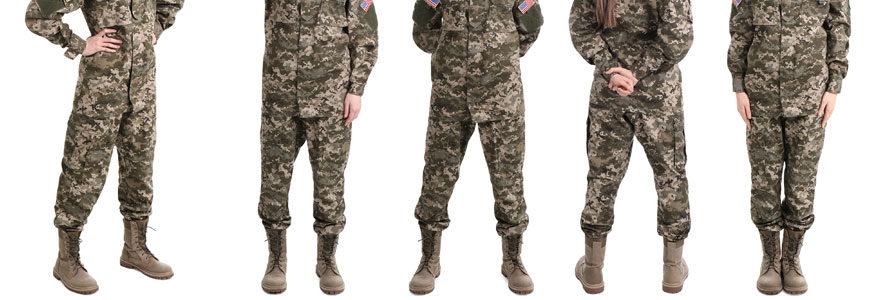 Pantalons camouflage